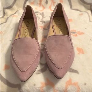 Sole Society Lavender Loafer flats